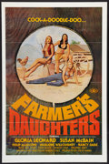 """Movie Posters:Adult, Farmer's Daughters (Alpha Blue, 1976). One Sheet (27"""" X 41""""). Adult.. ..."""