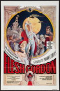 "Movie Posters:Sexploitation, Flesh Gordon (Mammoth Films, 1974). One Sheet (27"" X 41"") andPhotos (3) (8"" X 10""). Sexploitation.. ... (Total: 4 Items)"