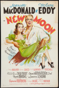 "New Moon (MGM, 1940). One Sheet (27"" X 41"") Style C. Musical"