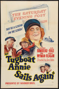 """Movie Posters:Comedy, Tugboat Annie Sails Again (Warner Brothers, 1940). One Sheet (27"""" X 41""""). Comedy.. ..."""