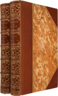 Books:First Editions, Richard F. Burton. A Mission to Gelele, King of Dahome.London: Tinsley Brothers, 1864. . First edition of Volume ...