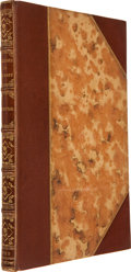 Books:First Editions, Richard F. Burton. Falconry in the Valley of the Indus.London: John Van Voorst, 1852.. First edition, only 500 co...