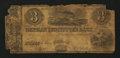 Obsoletes By State:Ohio, Fulton, OH- Orphan Institute's Bank $3 circa 1837. ...