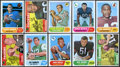 Football Cards:Sets, 1968 Topps Football Complete Set (219)....