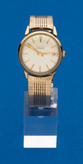 Timepieces:Wristwatch, Bulova Gold Filled Automatic Wristwatch. ...
