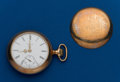 Timepieces:Pocket (post 1900), Elgin, 18 Size, 15 Jewel, Open Face. ...