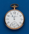 Timepieces:Pocket (post 1900), Hampden, 17 Jewel, 16 Size Pocket Watch. ...