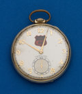 Timepieces:Pocket (post 1900), Hamilton, 21 Jewel, 921, Gold Filled Open Face. ...