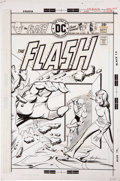 Original Comic Art:Covers, Mike Grell The Flash #236 Cover Original Art (DC, 1975)....