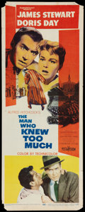"Movie Posters:Hitchcock, The Man Who Knew Too Much (Paramount, 1956). Insert (14"" X 36"").Hitchcock.. ..."