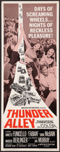 "Movie Posters:Action, Thunder Alley (American International, 1967). Insert (14"" X 36""). Action.. ..."