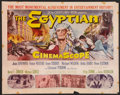 "Movie Posters:Historical Drama, The Egyptian Lot (20th Century Fox, 1954). Half Sheets (2) (22"" X28""). Historical Drama.. ... (Total: 2 Items)"