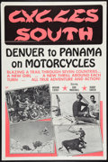 "Movie Posters:Documentary, Cycles South (Dal Arts, 1971). One Sheet (28"" X 42""). Documentary.. ..."