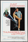 "Movie Posters:Crime, Thunderbolt and Lightfoot (United Artists, 1974). One Sheets (2)(27"" X 41"") Styles B & C. Crime.. ... (Total: 2 Items)"