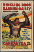 "Movie Posters:Miscellaneous, Circus Poster (Ringling Bros and Barnum & Bailey, Late 1930s).Poster (28.25"" X 42""). Miscellaneous.. ..."
