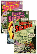 Silver Age (1956-1969):Mystery, House of Secrets Group (DC, 1958-66) Condition: Average VG+....(Total: 6 Comic Books)