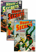 Silver Age (1956-1969):Mystery, House of Secrets Group (DC, 1961-64).... (Total: 5 Comic Books)