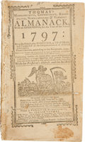 Books:Non-fiction, [Isaiah Thomas]. Thomas's Massachusetts, Connecticut,Rhode-island, Newhampshire & Vermont Almanack, With anEphemeris, ...