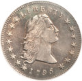 Early Dollars, 1795 $1 Flowing Hair, Two Leaves XF45 PCGS. B-1, BB-21, R.2....