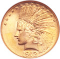Indian Eagles, 1912 $10 MS65 NGC....