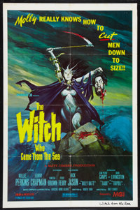 """The Witch Who Came From the Sea Lot (MCI, 1976). One Sheets (2) (27"""" X 41""""). Horror. ... (Total: 2 Items)"""