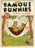 Platinum Age (1897-1937):Miscellaneous, Famous Funnies #13 (Eastern Color, 1935) Condition: VG....