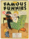 Platinum Age (1897-1937):Miscellaneous, Famous Funnies #12 (Eastern Color, 1935) Condition: VG....
