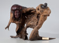 Fine Art - Sculpture, American:Contemporary (1950 to present), FROM THE COLLECTION OF SUSAN & ALLEN COLES. GEORGE BEACH(American, 20th Century). Medicine Bull, 1992. Wood. 16-1/2x...