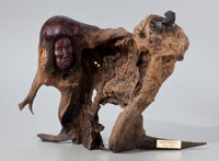 FROM THE COLLECTION OF SUSAN & ALLEN COLES  GEORGE BEACH (American, 20th Century) Medicine Bull
