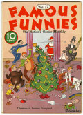 Platinum Age (1897-1937):Miscellaneous, Famous Funnies #17 (Eastern Color, 1935) Condition: VG....