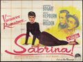"Movie Posters:Romance, Sabrina (Paramount, 1954). French Double Grande (63"" X 94.5"").Romance.. ..."