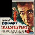 """Movie Posters:Film Noir, In a Lonely Place (Columbia, 1950). Six Sheet (81"""" X 81""""). Film Noir.. ..."""