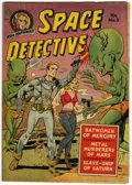 Golden Age (1938-1955):Science Fiction, Space Detective #2 (Avon, 1951) Condition: GD+....