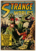 Golden Age (1938-1955):Science Fiction, Strange Worlds #3 (Avon, 1951) Condition: GD/VG....