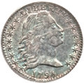 Early Half Dimes, 1794 H10C MS61 ANACS. V-4, LM-4, R.4....