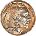 Proof Buffalo Nickels, 1936 5C Type One--Satin Finish PR68 PCGS....