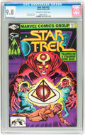 Modern Age (1980-Present):Science Fiction, Star Trek #12 (Marvel, 1981) CGC NM/MT 9.8 Off-white to whitepages....