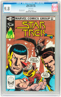 Modern Age (1980-Present):Science Fiction, Star Trek #16 (Marvel, 1981) CGC NM/MT 9.8 White pages....