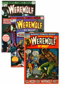 Bronze Age (1970-1979):Horror, Werewolf by Night Group (Marvel, 1972-77) Condition: AverageVF-.... (Total: 44 Comic Books)
