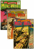 Golden Age (1938-1955):War, All-American Men of War #19, 21, and 22 Group (DC, 1955)....(Total: 3 Comic Books)
