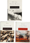 Books:Signed Editions, Cormac McCarthy. The Border Trilogy - Three Signed First Editions.New York: Alfred A. Knopf, 1992, 1994, 1998.. The three... (Total:3 Items)