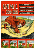 Golden Age (1938-1955):Funny Animal, Animal Comics #29 Cape Cod pedigree (Dell, 1947) Condition: VF....