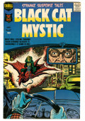 Silver Age (1956-1969):Horror, Black Cat Mystic #61 (Harvey, 1958) Condition: VF....