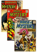 Silver Age (1956-1969):Horror, House of Mystery Group (DC, 1961-71) Condition: Average VG exceptas noted.... (Total: 13 Comic Books)