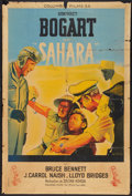 "Movie Posters:War, Sahara (Columbia, Late 1940s). First Post-War French Affiche (31"" X46""). War.. ..."