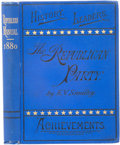 Books:First Editions, E. V. Smalley. The Republican Manual. New York: AmericanBook Exchange, 1880. First edition. Sixteenmo. 341 pages, s...
