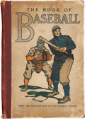 Books:First Editions, William Patten and J. Walker McSpadden. The Book of Baseball.The National Game From the Earliest Days to the Present Se...