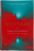 Books:Signed Editions, Gregory David Roberts. Shantaram. [London]: Little, Brown, [2004]. First British edition. Signed by Roberts and ...