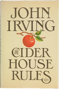 Books:First Editions, John Irving. The Cider House Rules. New York: William Morrowand Company, [1985]. First trade edition, first pri...