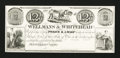 Obsoletes By State:Ohio, Massillon, OH- Wellmans & Whitehead 12 1/2¢ Proof. ...